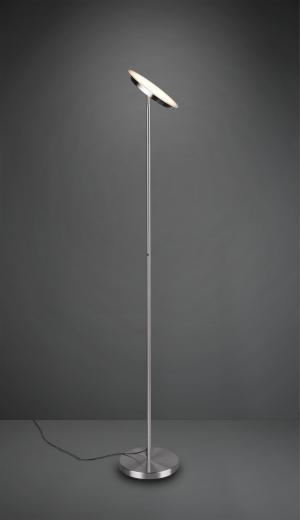 TRIO R42301107 Ponda LED dotykové stojanové svietidlo 20W/2100lm 3000K matný nikel