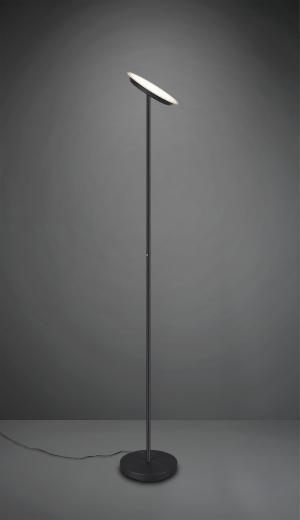 TRIO R42301132 Ponda LED dotykové stojanové svietidlo 20W/2100lm 3000K matné čierne