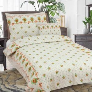 True Cotton Flanelové obliečky Cinnabar (3-dielna sada), 140 x 200 cm