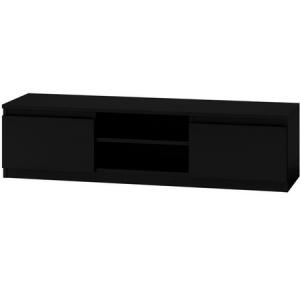 TV stolík LCD 140 cm čierny