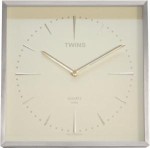 Twins hodiny 2904 biele, 29cm