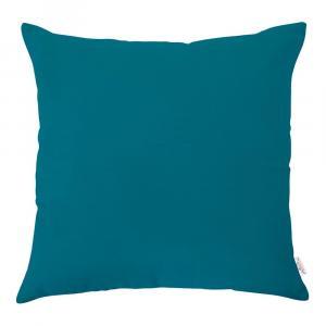 Tyrkysovomodrá obliečka na vankúš Mike & Co. NEW YORK, 43 × 43 cm