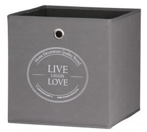 Úložný box Alfa, motiv Live Love