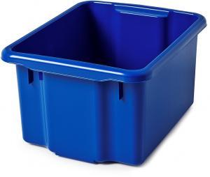 Úložný box Blake, 500x365x260 mm, 33 L, modrý