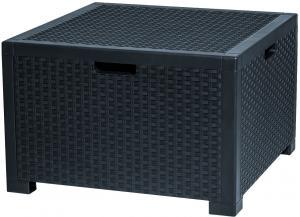 Úložný box SAMANA/CAMBRAI/DORADO 140L Farba: antracitová