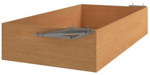 Úložný priestor pod posteľ Mega 90x200 cm, buk