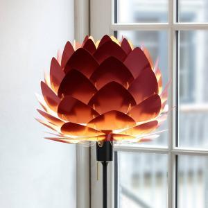 UMAGE UMAGE Aluvia mini stojaca lampa rubínovo-červená