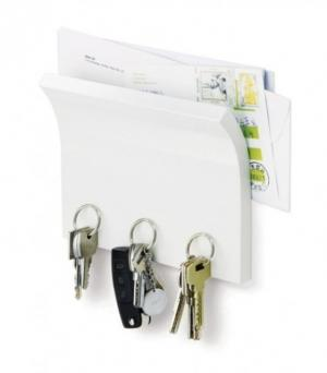 Umbra Magnetický panel na klíče Magnetter, bílý