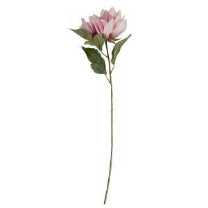 Umelá kvetina Dália ružová, 83 cm