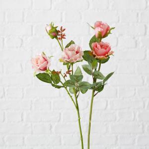 Umelá ruža, 2 kusy