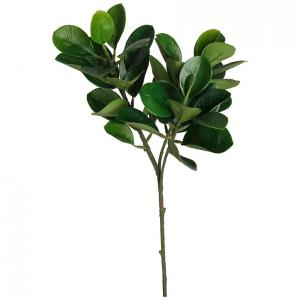 Umelý kvet krušpán 46 cm zelený