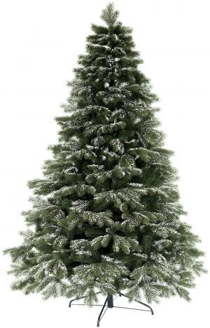 Umelý vianočný stromček 3D Borovica Himalájska Zasnežená 210cm