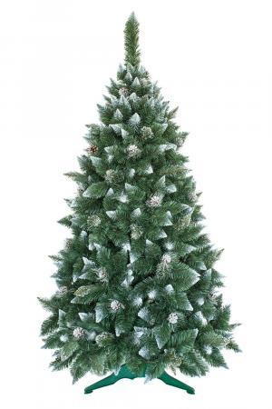Umelý vianočný stromček Borovica Strieborná s kryštálmi ľadu 250cm
