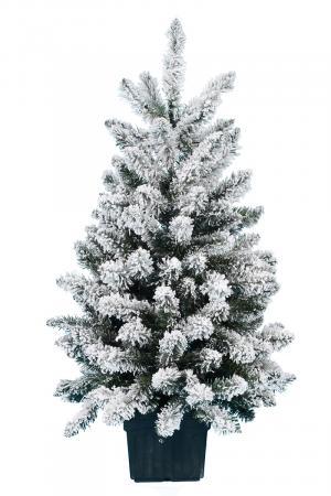 Umelý vianočný stromček Mini Jedlička Zasnežená 105cm
