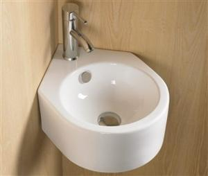 Umývadlo keramické KEG, rohové