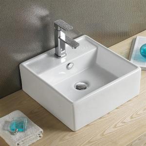 Umývadlo keramické SQAURE, hranaté