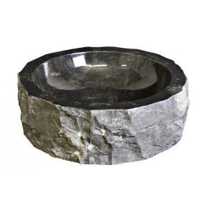 UMÝVADLO z prírodného kameňa 46- ČIERNY MRAMOR