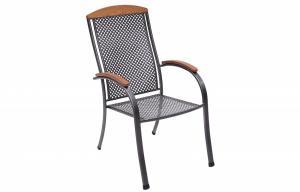 Unikov Kovová stolička Monaco
