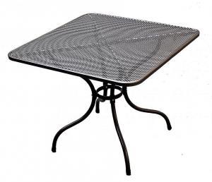 Unikov Kovový stôl 105 x 105 cm