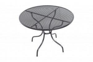 Unikov Kovový stôl bez otvoru pre slnečník ø105 cm