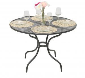 Unikov Kovový stôl okrúhly Ø 90 cm