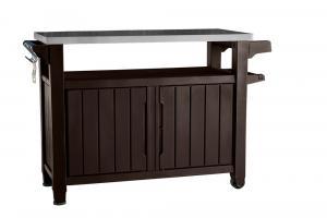 UNITY XL 207L stôl hnedý