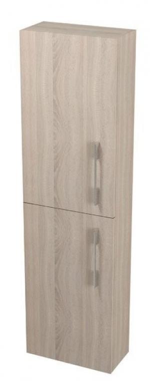 Úzka vysoká skrinka NATY, 40x140x20cm, dub starmood - Lavá
