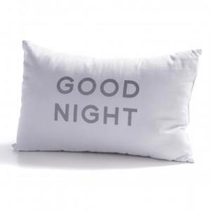 Vankúš GOOD NIGHT biely