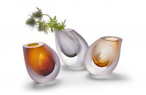 Váza Occhio, hnědá - Philippi