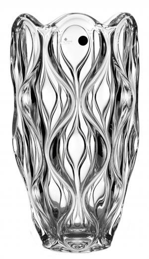 Váza Oceán, bezolovnatý crystalite, výška 300 mm