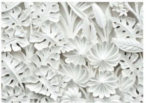Veľkoformátová tapeta Bimago Alabaster Garden, 350×245cm