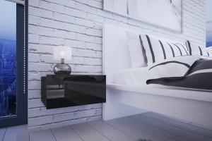 VerDesign, MOLI nočný stolík, čierna