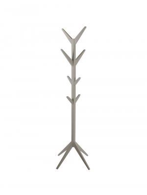 Vešiak drevený Scotty, 178 cm, sivá