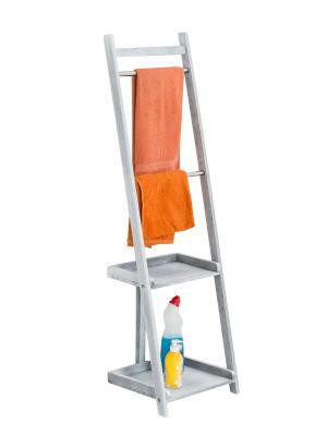Vešiak na uteráky Hokaido, 132 cm, sivá