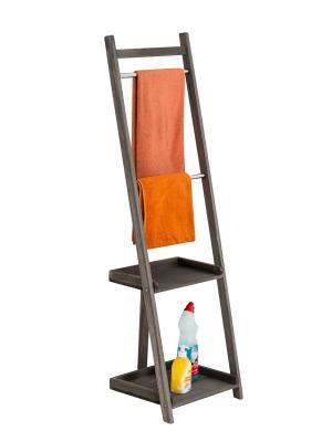 Vešiak na uteráky Hokaido, 132 cm, tmavohnedá