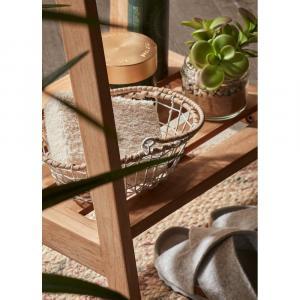 Vešiak na uteráky z teakového dreva La Forma Sunday