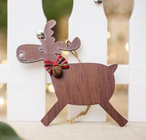Vianočná ozdoba drevená Varianta: 2