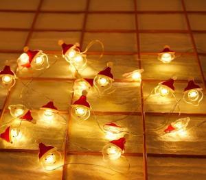 Vianočná svetelný LED reťaz Varianta: 1