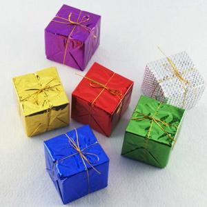 Vianočné dekorácie balíčky 12 ks