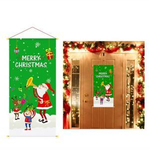 Vianočné dekorácie na dvere Varianta: 4
