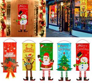 Vianočné dekorácie na dvere Varianta: 8