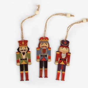 Vianočné dekorácie vojačik 3 ks Varianta: 1