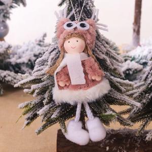 Vianočné dekoračné figúrka Farba: biela