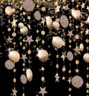 Vianočné dekoračné girlanda Varianta: 1