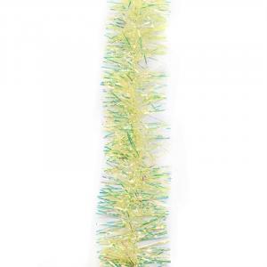 Vianočné dekoračné reťaz dúhový Farba: žltá, Veľkosť: M