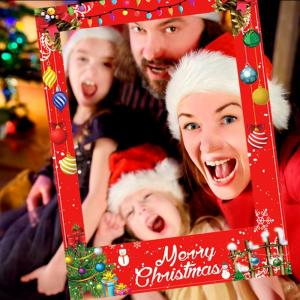 Vianočné fotorámik Merry Christmas Varianta: 1