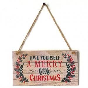 Vianočné závesná ceduľa Varianta: 2