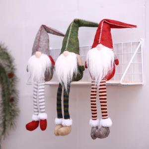 Vianočný dekoratívny elf - 3 farby Farba: červená