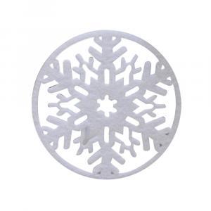 Vianočný podtácky 2 ks Farba: biela