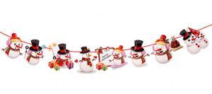 Vianočný reťaz - 4 varianty Varianta: 2